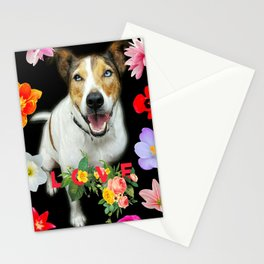 Harry Floral Love  Stationery Cards