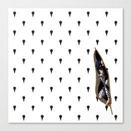 JoJo - Bruno Bucciarati Pattern [Zipper Ver.] Canvas Print
