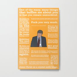 The Thick of It - Adam Kenyon Metal Print