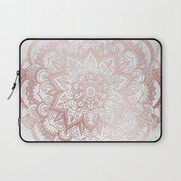 Rose Gold Mandala Star Laptop Sleeve