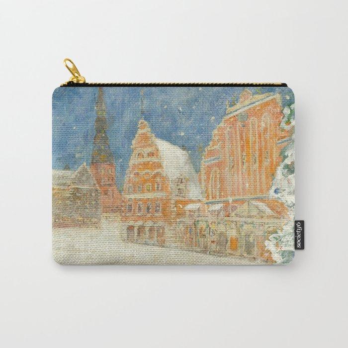 Merry Christmas Rīga Carry-All Pouch