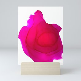 A heart or a rose? Mini Art Print
