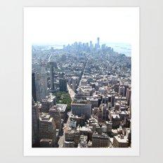 NY, NY Art Print