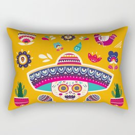 Cinco de Mayo – Scull Rectangular Pillow