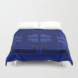 Indigo , blue Duvet Cover