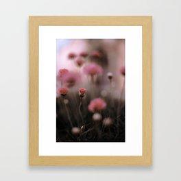 The flower Framed Art Print