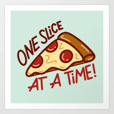 One Slice Art Print