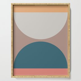 Abstract Geometric 23 Serving Tray