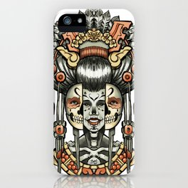 Two Ages of Woman iPhone Case