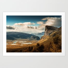Brown Mountain Art Print
