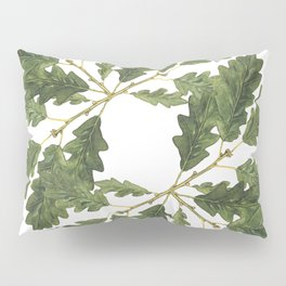 Oak leaf ensemble Pillow Sham