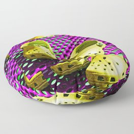 Pop Art Crocs By Sharon Cummings Floor Pillow