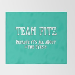 Team Fitz Throw Blanket
