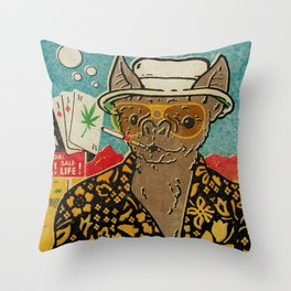This is Bat Country Throw Pillow