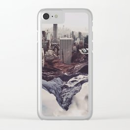 Contradiction Clear iPhone Case