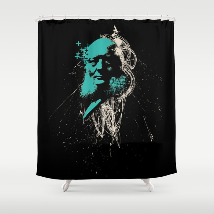 Positive Reinforcement Shower Curtain