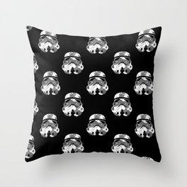 Stormtrooper Contrast Pattern 2 Throw Pillow