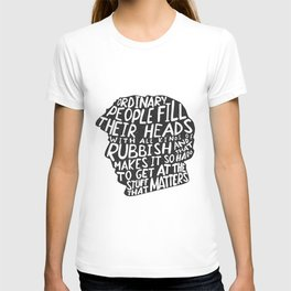 Sherlock on People T-shirt
