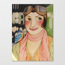 Indomitable Canvas Print