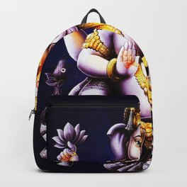 Hindu Ganesha 3 Backpack