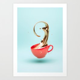Jacobs Gold Art Print