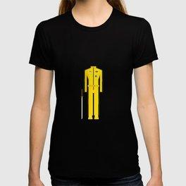 American Martial Arts Assassin Film Costume Minimal Sticker T-shirt