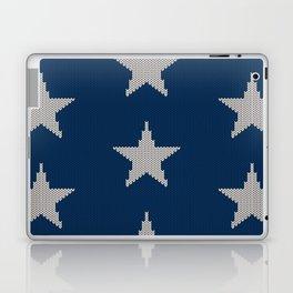 Knitted Stars Laptop & iPad Skin