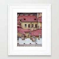 mosaic Framed Art Prints featuring Mosaic by Irina Chuckowree