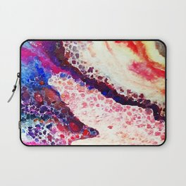 A Modern Leopard Print Abstract Laptop Sleeve