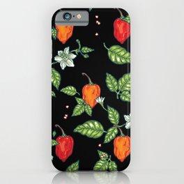 naughty habanero iPhone Case
