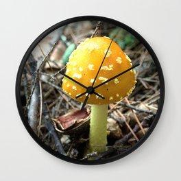 Mushroom K Wall Clock