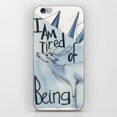 tired iPhone & iPod Skin