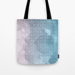 Geometric Aquarelle Tote Bag