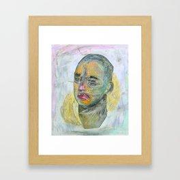 Meet Me For Some Positive Energy Framed Art Print