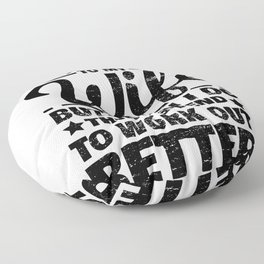 Wife Woman Obey Listening Funny Gift Floor Pillow
