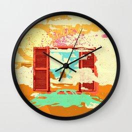 EXIT DREAM Wall Clock