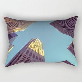 SF high rises Rectangular Pillow