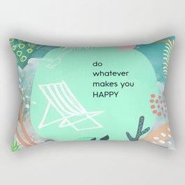 Happy Happy 2 Rectangular Pillow