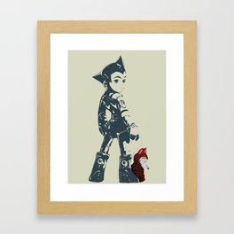 Astroboy Unplugged Framed Art Print