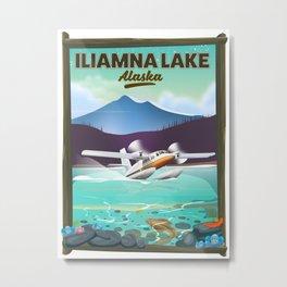 Iliamna Lake - alaska Metal Print