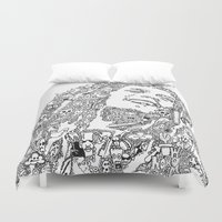 marley Duvet Covers featuring Marley by Ron Goswami