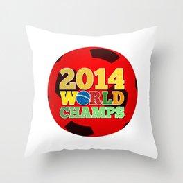 2014 World Champs Ball - Japan Throw Pillow