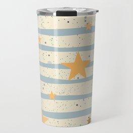 Star Pattern Travel Mug