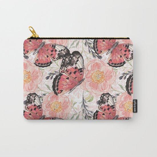 Flowers & butterflies #3 Carry-All Pouch