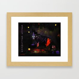 Double, double toil and trouble Framed Art Print
