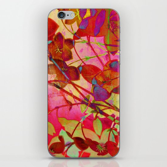 wild floral iPhone & iPod Skin