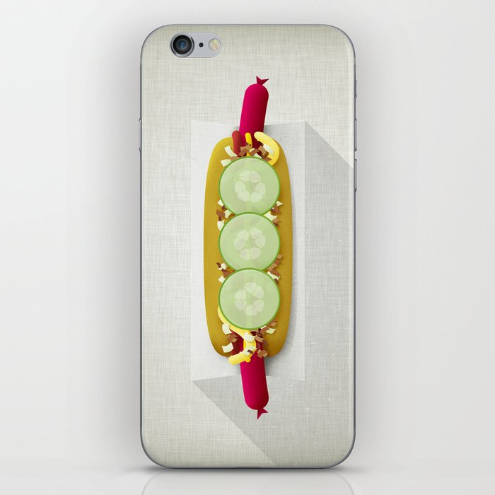 Red Hotdog iPhone Skin