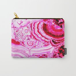 Malachite Pink Carry-All Pouch