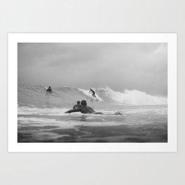 Australia Surf Art Print