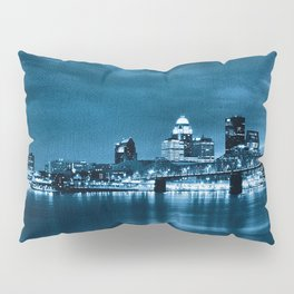 Skyline of Louisville Kentucky Pillow Sham